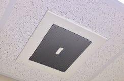 Förbandsgas och damm på en lufthålräkning arkivbild