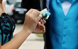 Förbered klänningslivet Fotografering för Bildbyråer
