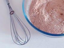 Förbereda deg för chokladsockerkaka, muffin eller muffin Royaltyfria Bilder