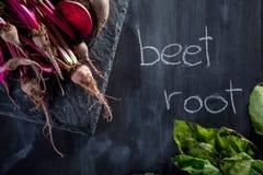 Förbereda den sunda vegetariska matställen Arkivfoto