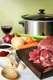 förbereda sig för casserole fotografering för bildbyråer