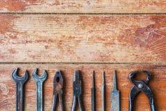 Förbereda sig för hem- reparationer royaltyfria bilder