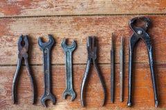 Förbereda sig för hem- reparationer arkivfoto