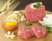 förbereda sig för meatball Royaltyfri Fotografi