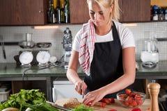 förbereda smörgåsen Royaltyfri Fotografi