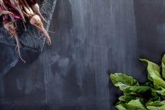 Förbereda sunt vegetariskt mål Arkivfoto