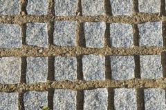 förberedande fyrkantiga stenar Royaltyfri Fotografi