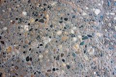 Förberedande sten för sten av liten kulör stenbakgrund Royaltyfri Foto