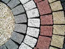 förberedande stenar Royaltyfri Fotografi