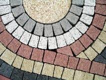 förberedande stenar Arkivbild