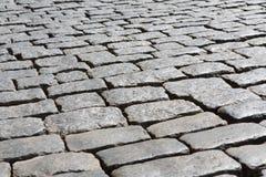 Förberedande textur för sten Abstrakt gammal trottoarbakgrund Arkivfoto
