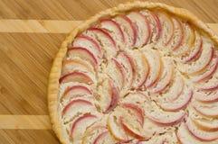 förberedd äppleefterrättpie Royaltyfri Foto