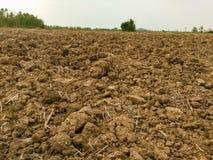 Förberedelse av jordbruksområdet Royaltyfri Bild