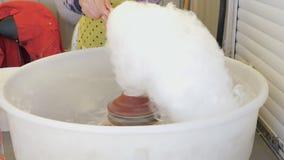 Förberedelse av söt bomull Små barnsliga glädjer lager videofilmer