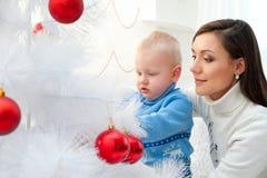 Förberedelse för jul arkivbild