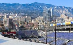 Förberedelser för den Monaco granda prixen 2015 Arkivbild