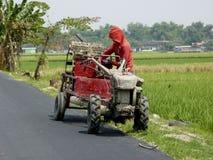 Förbereder traktorer Royaltyfri Fotografi