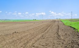 förberett att plantera smutsar ukrainare Arkivfoton