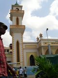 Förbigå moskén Arkivfoto