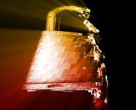 förbikopplingsdataintrångsäkerhet Arkivbild