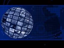 förbinda som är globalt royaltyfri illustrationer