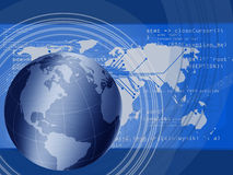 förbinda som är globalt stock illustrationer