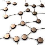 förbindelsegruppobjekt stock illustrationer