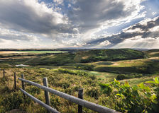 Förbise Alberta Foothills Arkivbilder