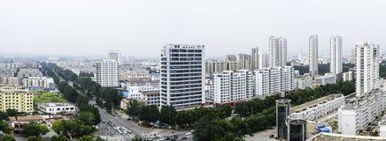 Förbise den Rizhao staden Royaltyfri Fotografi