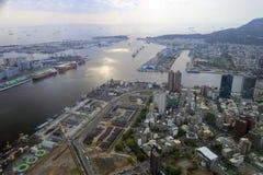 Förbise kaohsiung port Royaltyfri Fotografi