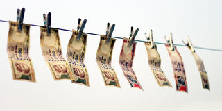 Förbjuda på Rs 500, Rs som 1000 anmärkningar är det kirurgiska slaget på skräckfinansiering, svarta pengar Fotografering för Bildbyråer