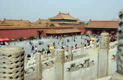 förbjuden beijing porslinstad Fotografering för Bildbyråer