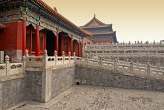 förbjuden beijing porslinstad royaltyfri bild