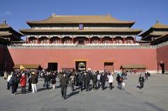 förbjuden beijing stad Fotografering för Bildbyråer