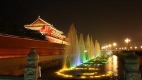 förbjuden kinesisk stad royaltyfri bild