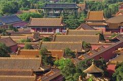 förbjuden slott för beijing porslin stad Royaltyfri Foto