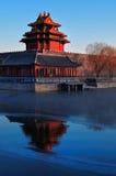 Förbjuden stad, Beijing, Kina Arkivbild
