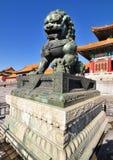 Förbjuden stad, Beijing, Kina Royaltyfri Fotografi