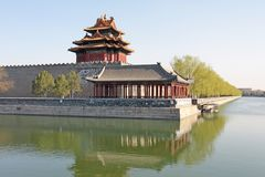 förbjuden stad beijing porslin arkivbilder