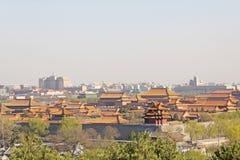 förbjuden stad beijing porslin royaltyfri bild