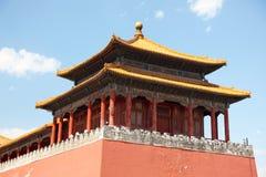 Förbjuden stad, Kina Arkivbild