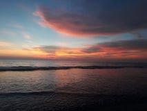 Förbluffa den Varca stranden, Goa Royaltyfri Foto