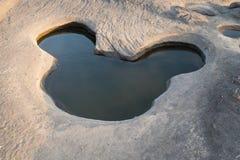 Förbluffa det sam phan bok och Grandet Canyon i Thailand Royaltyfri Bild