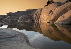 Förbluffa det sam phan bok och Grandet Canyon i Thailand Fotografering för Bildbyråer