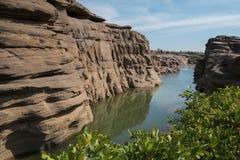 Förbluffa det sam phan bok och Grandet Canyon i Thailand Arkivfoto
