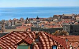 Förbluffa Dubrovnik Huvudstaden av det Dalmatia landskapet Royaltyfri Fotografi