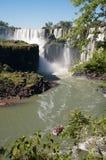 Förbluffa Iguassu vattenfall Royaltyfria Bilder