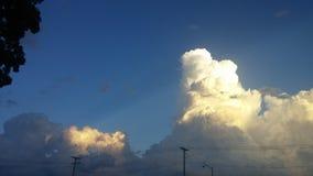 Förbluffa moln Royaltyfria Bilder