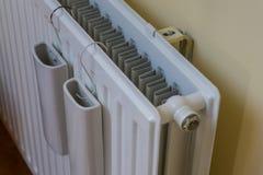F?rbluffa sammans?ttning av den inomhus den v?ggv?rmeapparaten, v?rmeapparaten eller elementet Med beh?llaren, beh?llaren eller h arkivfoton