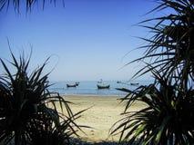 Förbluffa Sts Martin öhavet strand-Bangladesh royaltyfria foton